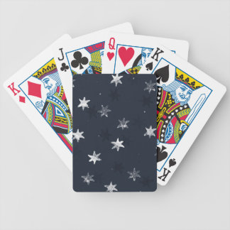 Stamped Star Poker Deck
