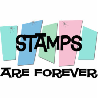 Stamps Are Forever Cut Out