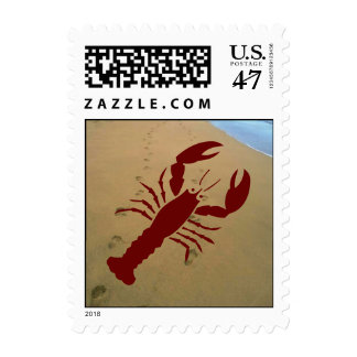 Stamps Beach Party Mailing Invitation Lobster Boil
