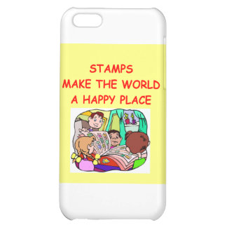 stamps iPhone 5C cover