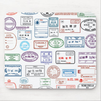 Stamps & Seals Mouse Pad