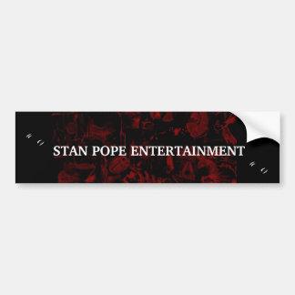STAN POPE BUMPER STICKER