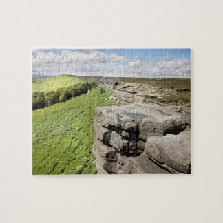 Stanage Edge Peak District souvenir photo Jigsaw Puzzle