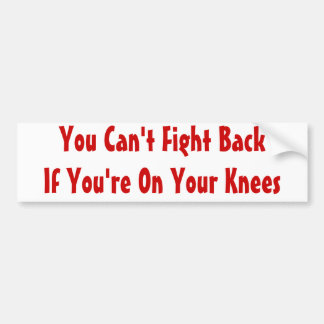 Stand and Fight Bumper Sticker
