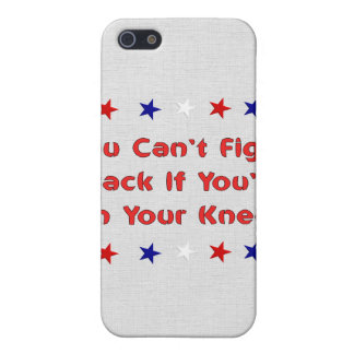 Stand and Fight iPhone 5 Case