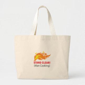 Stand Clear! Jumbo Tote Bag