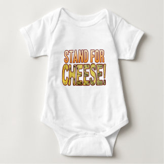Stand For Blue Cheese Baby Bodysuit