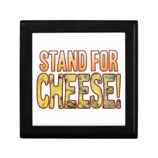 Stand For Blue Cheese Small Square Gift Box