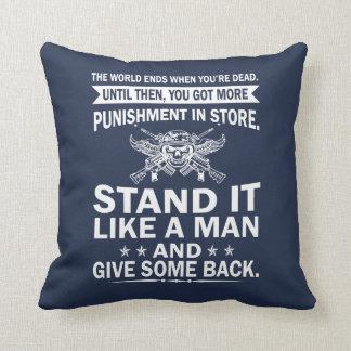 Stand It Like A Man Cushion