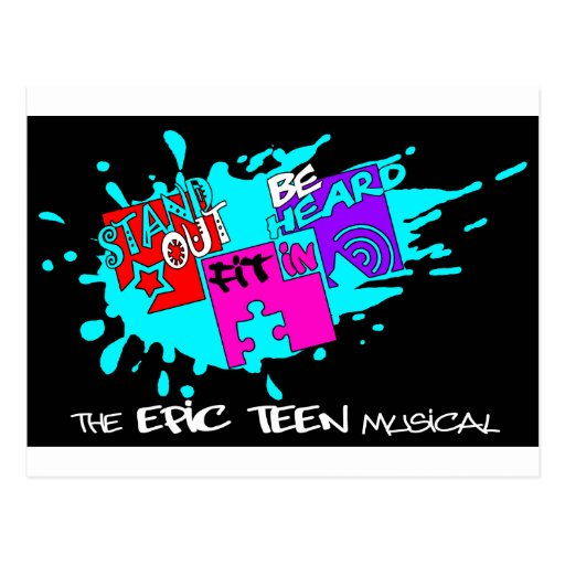 stand out, fit in, be heard - the Musical Postcard