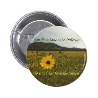 Stand Out from the Crowd 6 Cm Round Badge