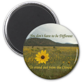 Stand Out from the Crowd 6 Cm Round Magnet