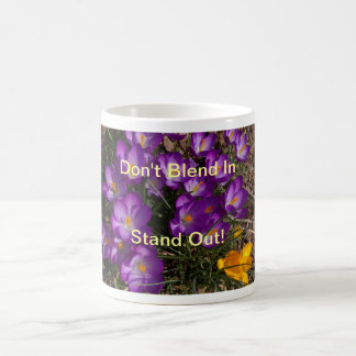 Stand Out from the Crowd Basic White Mug
