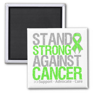 Stand Strong Against Non-Hodgkin's Lymphoma Cancer Fridge Magnet