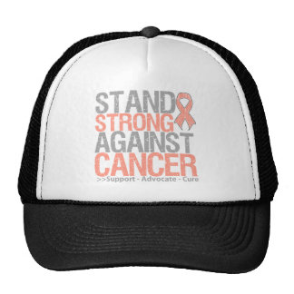 Stand Strong Against Uterine Cancer Trucker Hats