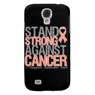 Stand Strong Against Uterine Cancer Galaxy S4 Case
