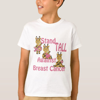 stand tall against breast cancer T-Shirt