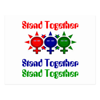 Stand Together International Women's Day Postcard