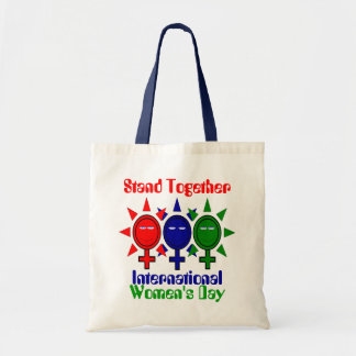 Stand Together International Women's Day Canvas Bags