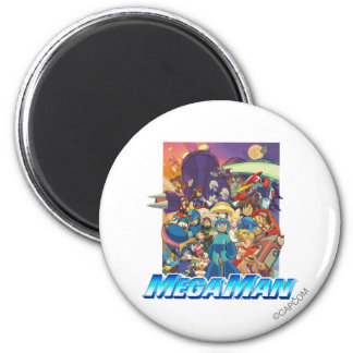 Stand Up 6 Cm Round Magnet
