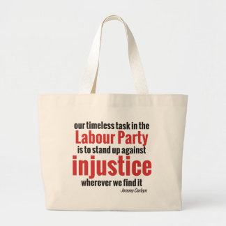 Stand up Against Injustice Large Tote Bag