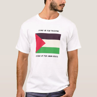 Stand Up For Palestine - Flag T-shirt