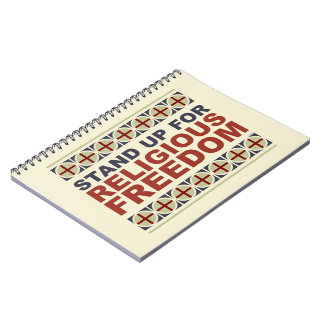 Stand Up For Religious Freedom Notebook