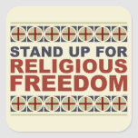 Stand Up For Religious Freedom Sticker