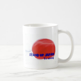 STAND UP JAPAN by dakeayana Basic White Mug