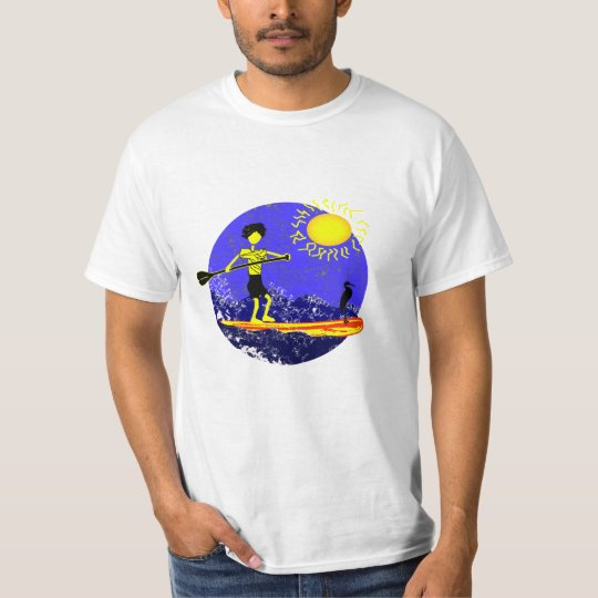 Stand Up Paddle Design T-Shirt