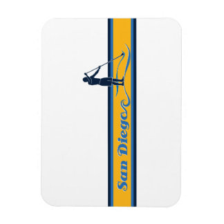 Stand Up Paddle San Diego Vinyl Magnets