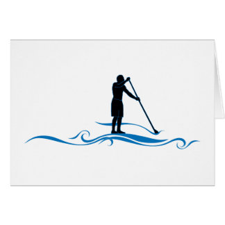 Stand Up Paddle - Waves Card