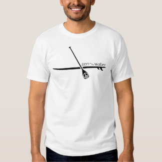 Stand Up Paddle Zen on the Water T-shirts