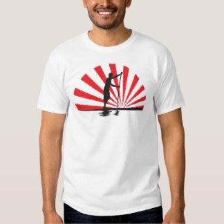 Stand Up Paddleboard Rising SUP Mk II Tee Shirts