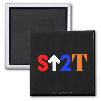 Stand Up to Trump! Square Magnet
