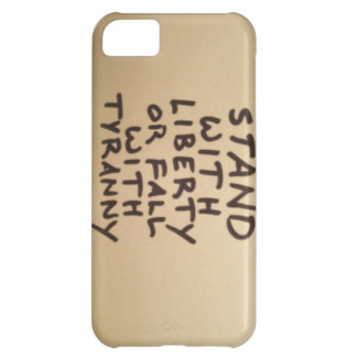 Stand with Liberty Phone Skin iPhone 5C Case