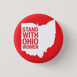 Stand with Ohio Women-Button 3 Cm Round Badge