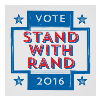Stand with Rand 2016 Poster