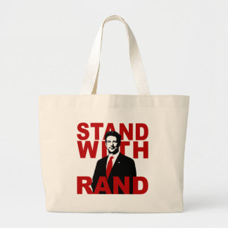 Stand With Rand Canvas Bags