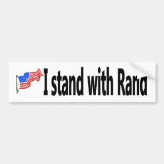 Stand with Rand Bumper Sticker