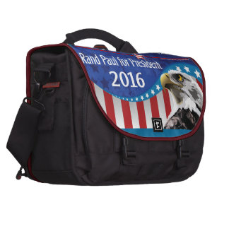 STAND WITH RAND PAUL COMMUTER BAG