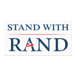 Stand With Rand Stretched Canvas Prints
