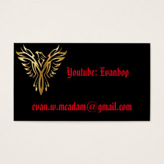"Standard, 3.5"" x 2.0"", Standard Evanbop Card"