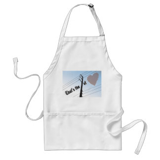 Standard Apron POWER OF LOVE SILOUETTE