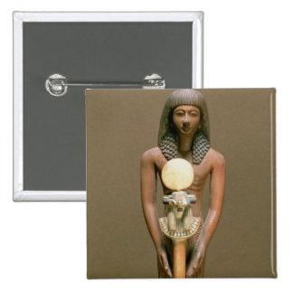 Standard-bearer with ram-headed standard (cariob w 15 cm square badge