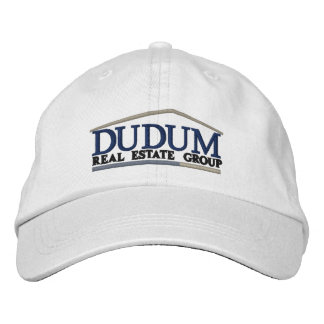 Standard Branded Ball Cap in White Embroidered Cap