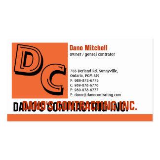 Standard Business Card Design-2