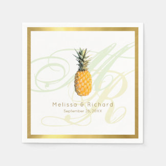 standard cocktail napkins for a tropical reception disposable napkin