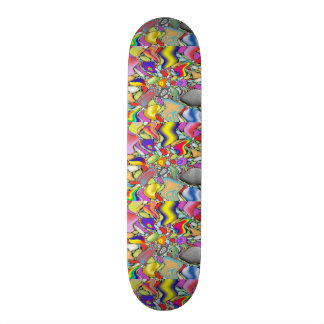 standard color abestrato skateboard deck