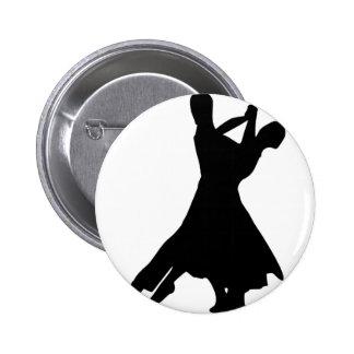 Standard Dance 6 Cm Round Badge